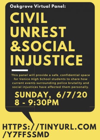 Oakgrove Hosts First Virtual Panel 'Civil Unrest & Social Injustice'