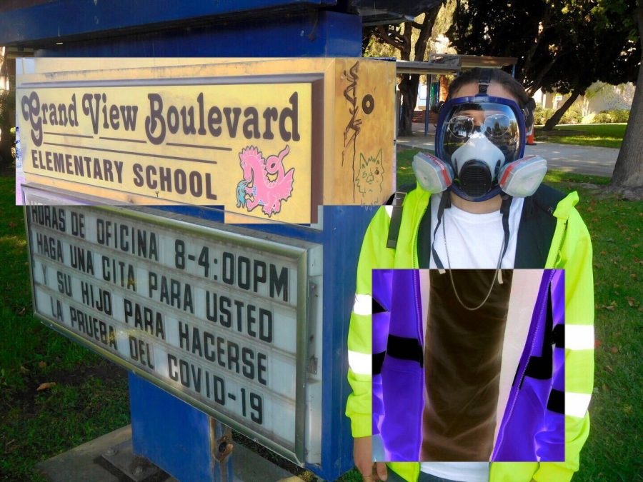 A Journey to a LAUSD COVID-19 Testing Site