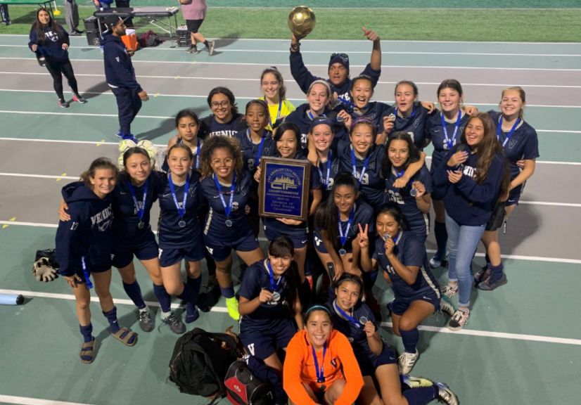 Venice Girls' Soccer Coach Chaka Forman Recognized by CIF and Positive Coaching Alliance